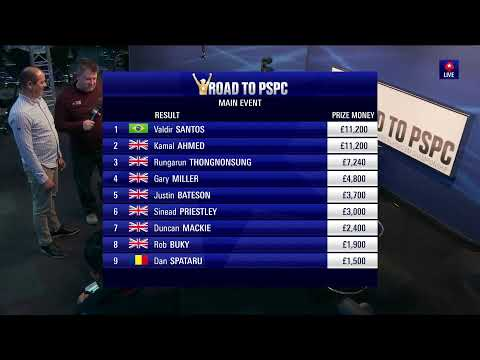 Moneymaker Tour At Aspers Casino, London - Final Table - P. 1