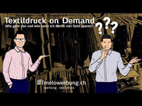 *Textildruck on demand Ostschweiz (Geld sparen aber beste Qualität)*