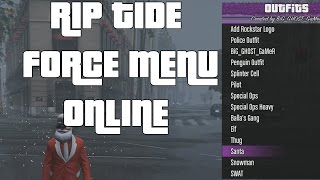 GTA V Riptide Force v1 Mod Menu + Download (xbox 360/ps3/pc)