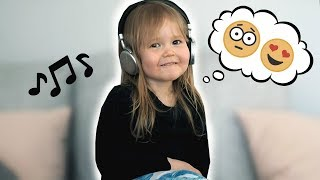 TAAPERO REAGOI HEVIMUSIIKKIIN - Toddler Reacts to Heavy Music engl. subs. | Tommi & Co