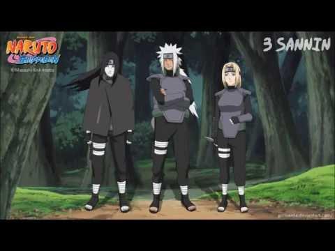 Naruto Unreleased TrackSannin Battle ThemeExtended