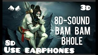 Bam bam bhole in (8d) use earphones 3D sound __ Original Powerful & Best Trance