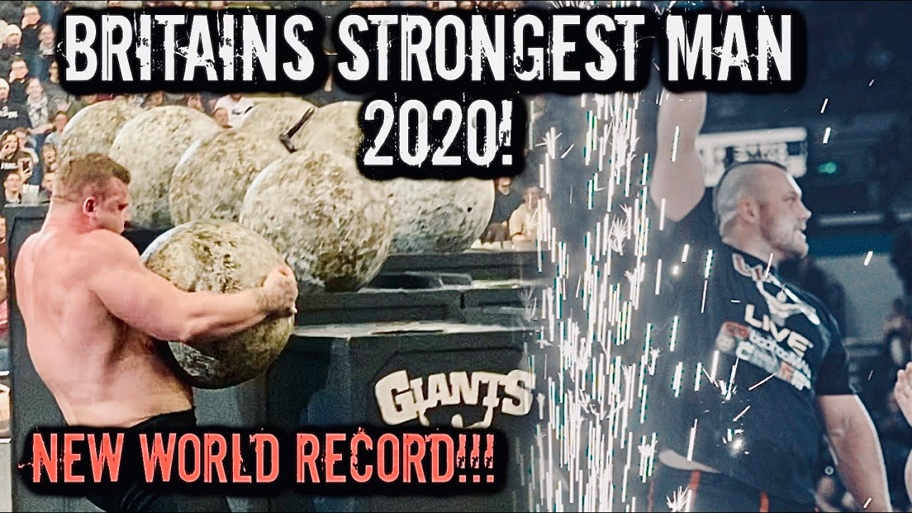 BRITAINS STRONGEST MAN 2020 | WINNER?