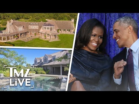 The Obamas New Mansion Is INSANE  TMZ