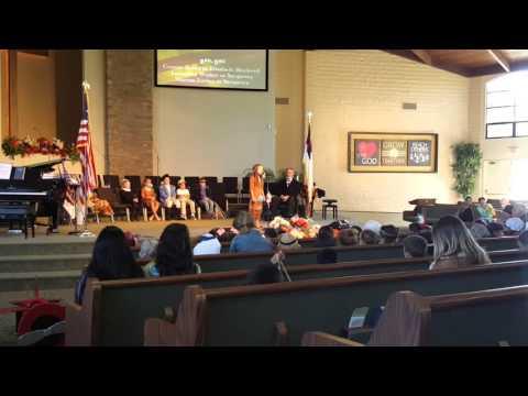 Marissa winning speech on Sacagawea