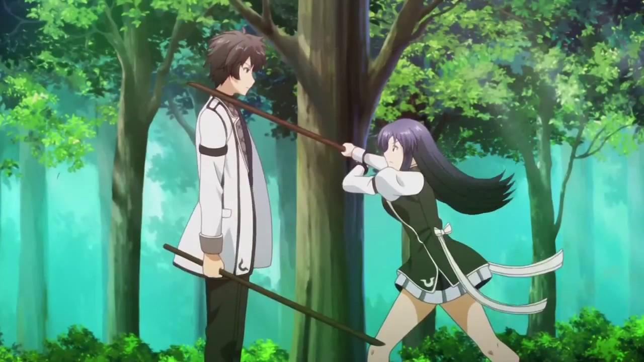 Rakudai Kishi no Cavalry Episodio 01 - AnimeForce
