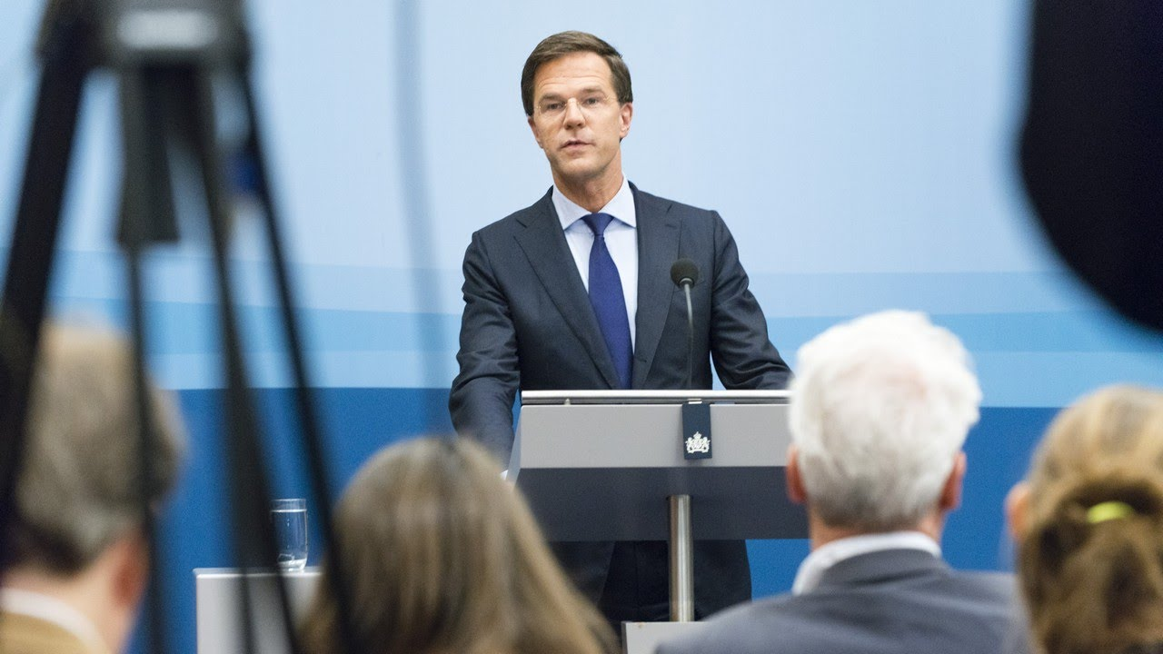 Integrale Persconferentie MP Rutte 16 Mei