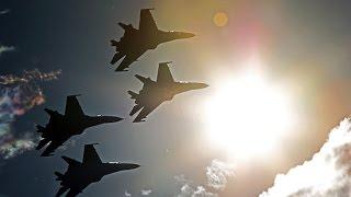 Бомбардировка России по Укреплениям ИГИЛ в Сирии