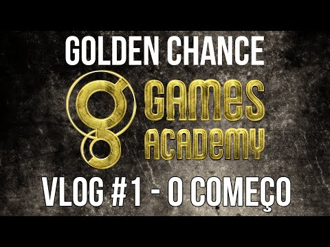 Vlog #1 Golden Chance: O começo / The Beginning [English CC]