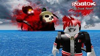 Roblox : Time Travel Adventures ผจญภัยข้ามเวลาไปเกาะต้องคำสาป ต้องเทพทรูถึงจะรอด