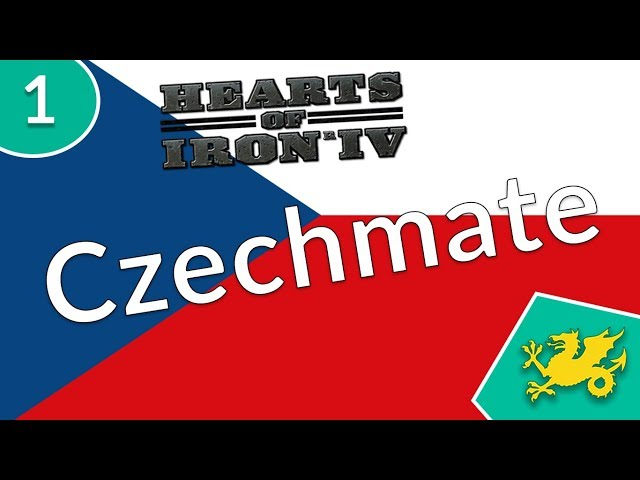 HOI4 Between Rocks and Hard Places - Czechmate Achievement [1]