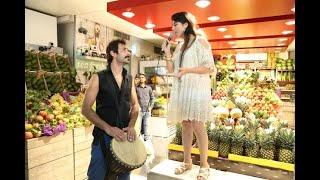 """""""Red Oak Blind-Friendly Market""""- Flash Mob by Red Oak"""