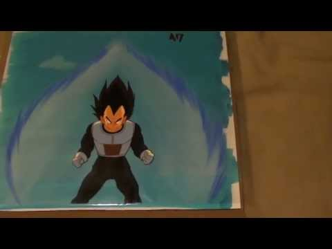 Dragon Ball Z Animation Production Cel - Vegeta Frieza Saga