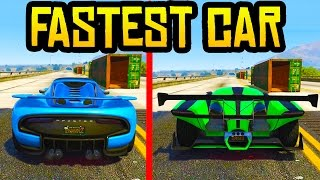 GTA 5 DLC NEW FASTEST SUPER CAR! - Pfister 811 vs X80 Proto! (GTA 5 Fastest Car)