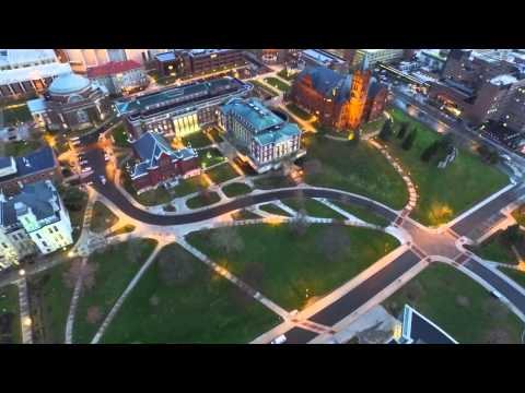 Syracuse University from Above