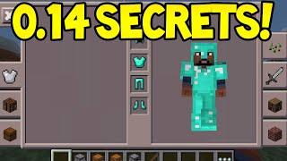 Minecraft Pocket Edition - 0.14.0 Update - SECRET FEATURES
