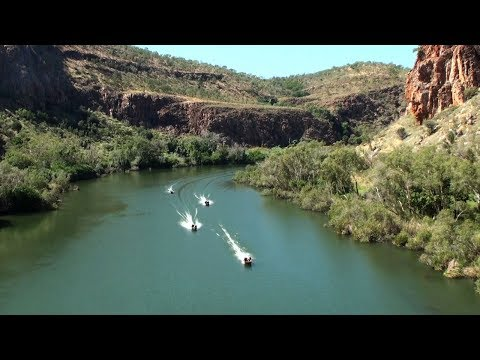 Dam to Dam Dinghy Dash Aerial Footage 2017