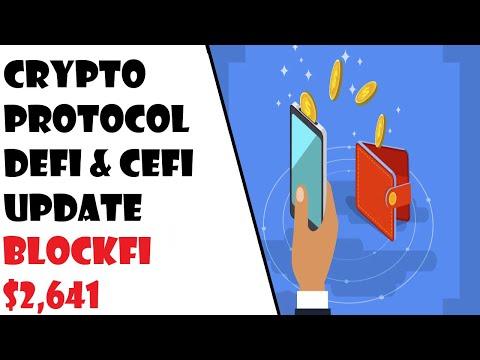 Crypto Investing Ep.58-Crypto Protocol Defi & Cefi Update