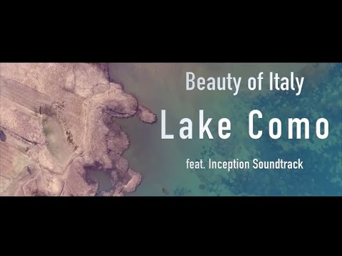 Lake Como Aerial Movie by Drone feat. Inception Soundtrack Mind Heist - Zack Hemsey - HD