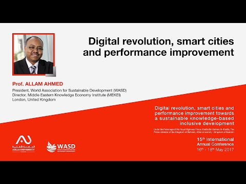Digital revolution, smart cities and performance improvement