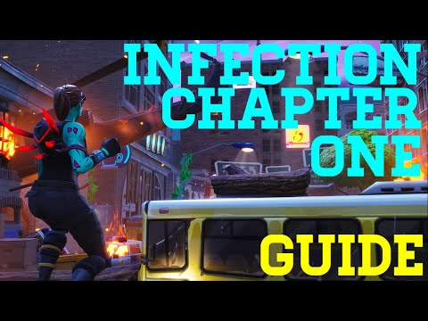 How To Complete Infection - Chapter 1 By Juxi - Fortnite Creative Guide