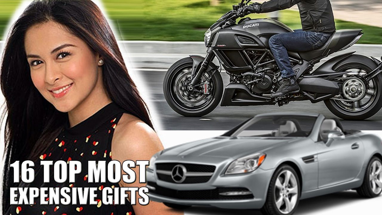 Most Expensive Car In Philippines 2017 >> TOP MOST EXPENSIVE Celebrity Gifts in Philippines Showbiz History - YouTube