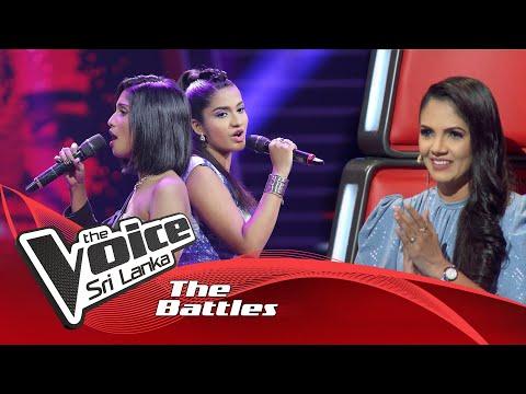 The Battles : Sineli Basnayaka V Keleigh Berenger    You Raise Me Up   The Voice Sri Lanka