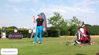 Ian Poulter Golf Clinic - Woburn Junior Invitation Day 2013