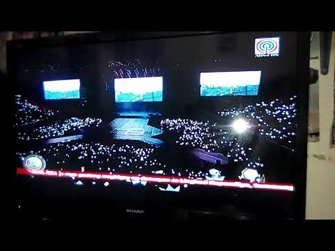 EXO's Elyxion in manila being featured on TV Patrol