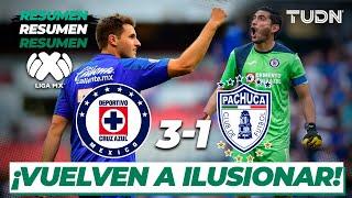 Resumen y Goles | Cruz Azul 3 - 1 Pachuca | Liga Mx - J-5 CL-2020 | TUDN