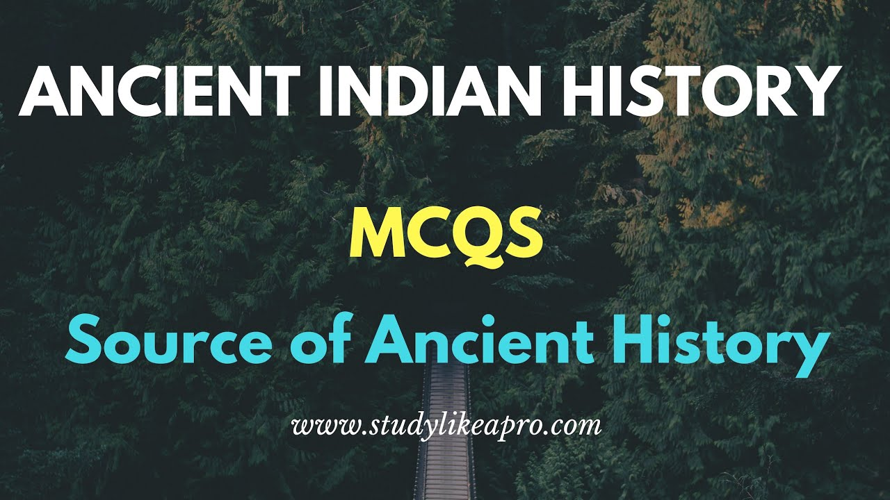ancient history mcq for upsc pdf