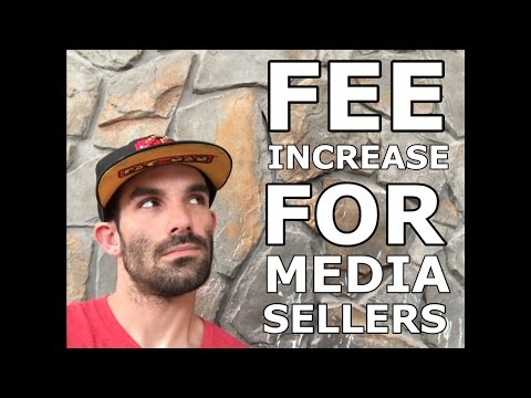 LIVE - NEW AMAZON FEE CHANGES FOR MEDIA SELLERS - WHAT IT MEANS, HOW TO ADAPT?