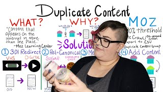 How to Resolve Duplicate Content — Whiteboard Friday