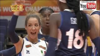 Turkey vs Italy world champioship 2018  preliminary round - Full Match Highlights - HD