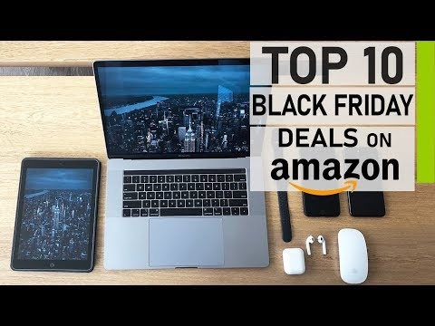 Top 10 Best Black Friday Tech Deals on Amazon 2019