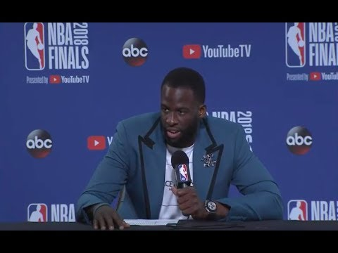 Draymond Green   Game 2 Finals Press Conference