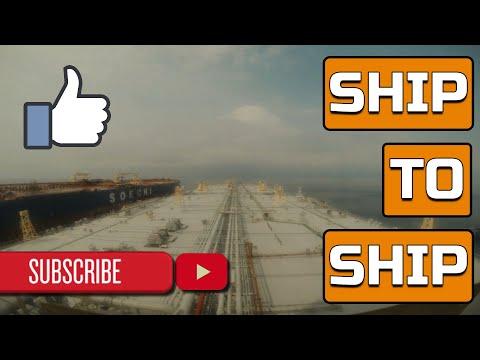 SHIP TO SHIP OPERATION BETWEEN 2 VLCCs