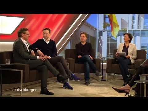 Maischberger (14.03.18) Komplett u.a. mit Bernd Baumann (AfD), Kevin Kühnert(SPD), Paul Ziemiak
