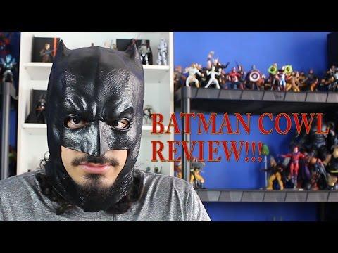 Rubie's Dawn Of Justice Adult Batman Cowl Review (DOJ Batman Cosplay Part 1)