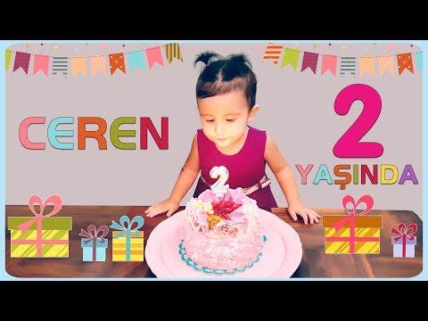 CEREN artık 2 yaşında! Doğum gününü ailece kutladık. Ceren's 2. Birthday 💖 indir