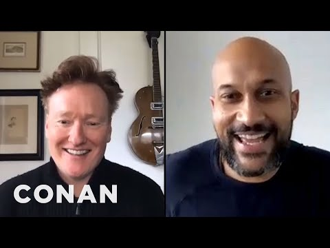 How Keegan-Michael Key Celebrated His Birthday In Quarantine - CONAN on TBS