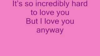 boyzone love you anyway lyrics