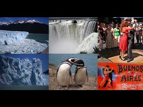 4. ΑΡΓΕΝΤΙΝΗ - ARGENTINA: : Cataratas Iguazu, Buenos Aires, Valdés, Perito Moreno, Ushuaia (video)