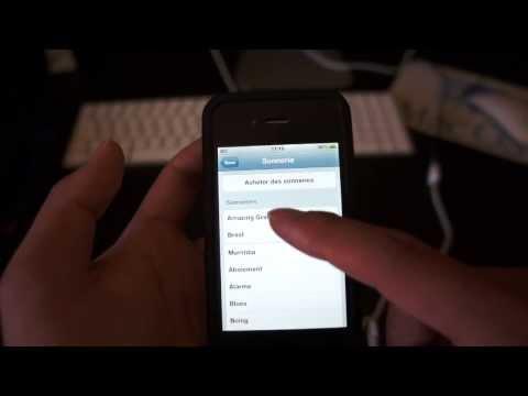 Comment envoyer un mail via la 3G de son iPhone lorsqu'on a SFR comme opérateur ?