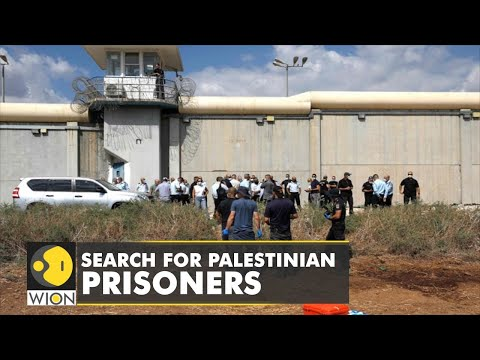 Israeli forces search for six Palestinian prisoners | Israel News | Latest Updates | WION