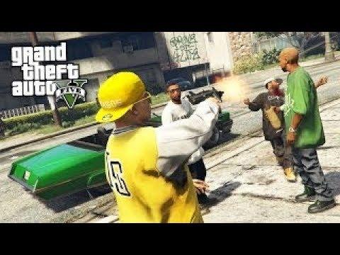 GTA 5 Gang Wars: PIMPIN GIRLS TO BUY GUNS!!! GTA 5 Mods Gameplay