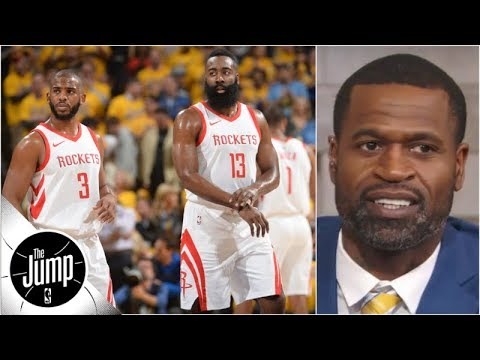 Stephen Jackson doesn't buy Rockets' defense this season | The Jump | ESPN