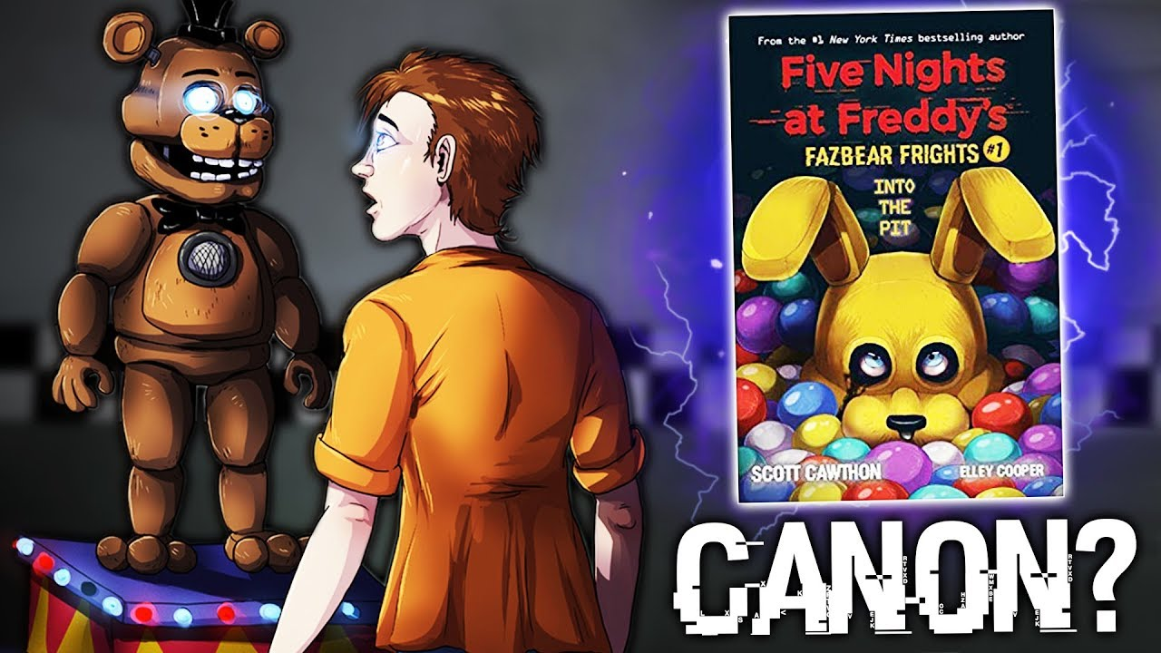New Teaser Are The New Fnaf Books Canon Now Youtube