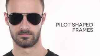 Ray Ban RB8307 Aviator Carbon Fibre Polarized Sunglasses Review    SmartBuyGlasses 7d4a05c93577