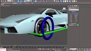 Lamborghini Reventon Drifting 3dmax Car Rigged  Free Download